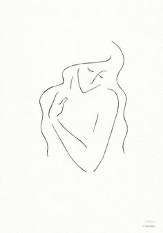 Black and white line art sketch. Ink drawing of a woman with long hair. Line Drawing, Drawing Sketches, Art Drawings, Sketch Ink, Minimalist Drawing, Minimalist Art, Line Art, Minimal Drawings, Woman Drawing