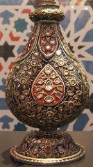 Jewelled Mughal rosewater bottle | Flickr - Photo Sharing!