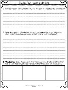 Calendar Mysteries - March Mischief by Creative Works | TpT Writing Strategies, Writing Prompts, Teaching Tools, Teaching Resources, Make Money Online, How To Make Money, Mcgraw Hill Wonders, Reading Street, Story Elements