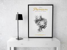 Free Premium Photo Frame Mockup