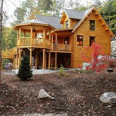 Exciting Choices to make your dream log cabins in the mountains or next to a river. A necessity to get away from our crazy life.
