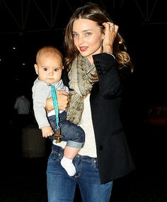 Miranda Kerr and Orlando Bloom's Son Flynn Turns 1!: July 25, 2011