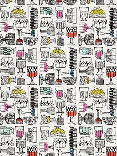 Marimekko Kippis Wallpaper - John Lewis