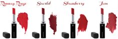 What's your fave shade of RED?
