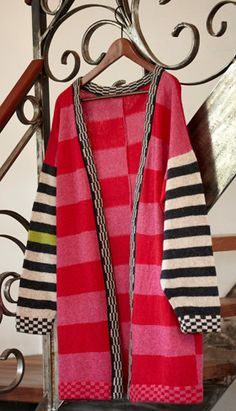 Strikkeopskrift, strikket jakke i 60'er stil