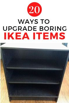 Check out these before and after ikea furniture makeover ideas for your bedroom, living room and kitchen. Decorate on a budget is easy with these cheap ikea upgrades. #hometalk