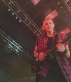 micheal clifford swearing red plaid aesthetic