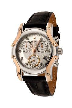 Diamonds Chronograph Watch