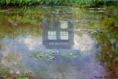 The Doctor always had a thing for water lilies. I move a vote for a Monet episode!