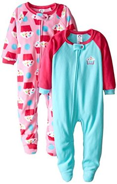 Gerber Little Girls' 2 Pack Blanket Sleepers, Cupcake, 6X... https://www.amazon.com/dp/B00W9LUJ22/ref=cm_sw_r_pi_dp_PadAxb5XS8KT8