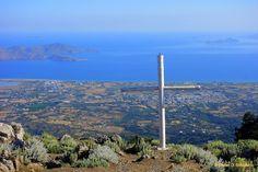 Blick vom Dikeos (Juni 2016) Mastichari Beachi, Hier gibt es sehr nette Tavernen, direkt am Strand gelegen. #Kos #Insel #Griechenland #greece #island #Dodekanes #InselKos #KosIsland #Dikeos
