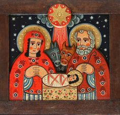 . Image Jesus, Biblical Art, Ukrainian Art, Christmas Icons, Art Icon, Winter Kids, Christmas Nativity, Orthodox Icons, Christmas Illustration