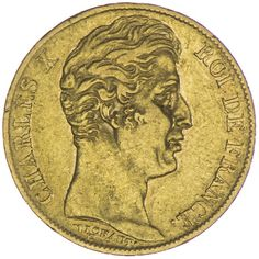 20 Francs 1827 A Frankreich Charles X. Philippe 1824 - 1830