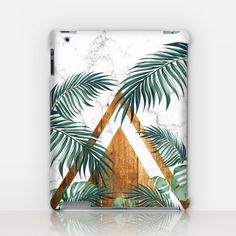 Exotic Leaves Marble iPad Case http://shopcatchingrainbows.com/shop-2/ipad-cases/exotic-leaves-marble-ipad-case/