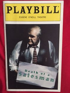 DEATH OF A SALESMAN Playbill