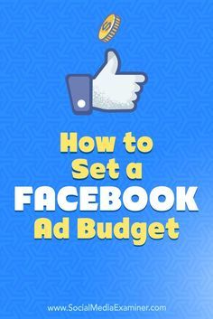 Wondering how much you should spend on Facebook ads?  Do you need to set a budget?  In this article, you'll discover how to set a Facebook advertising budget by working backward from the revenue you need to generate.
