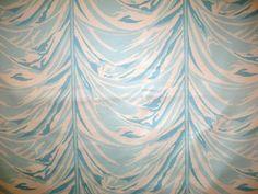 """Carleton Varney Versailles17.5"""" repeat yellow, pink, aqua fabric and wallpaper"""