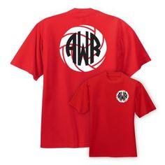 Preppy Monogram Volleyball Shirt