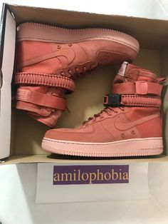 4c58229a75 New Womens Nike SF AF1 Size 11 Dusty Peach Athletic Shoes #fashion  #clothing #