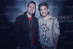01/28/16 troyemmerton Chasing THE ORIGINAL HIGH with ADAM LAMBERT!  Still can't believe hubby & I met this amazing & sexy man! #TheOriginalHighTour