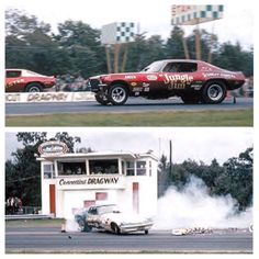 The track got its start in 1961, Frank Marratta built it from the ground up. Most tracks from the late 50's and early 60's were originally airport runways, Connecticut Dragway was built specifically for racing. Marratta had been exposed to drag racing in years prior, and actually received an offer to become a partner in the Dover Drag Strip less than a year before opening his own track. Going out on his own was a gamble, but it paid off as the track saw lots of success through the years