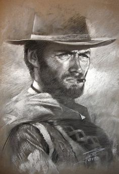 Klint Eastwood by YLLI HARUNI on ARTwanted