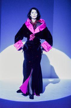 Mugler Fall 1995 Couture Fashion Show