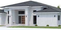 Bedroom House Plans, Dream House Plans, Modern House Plans, Small House Plans, Modern House Design, House Floor Plans, Fairytale House, Hawaiian Homes, Modern Bungalow House