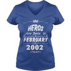 Heros are born in february 2002 year, heros t shirt, hoodie shirt for womens and men love #gift #ideas #Popular #Everything #Videos #Shop #Animals #pets #Architecture #Art #Cars #motorcycles #Celebrities #DIY #crafts #Design #Education #Entertainment #Food #drink #Gardening #Geek #Hair #beauty #Health #fitness #History #Holidays #events #Home decor #Humor #Illustrations #posters #Kids #parenting #Men #Outdoors #Photography #Products #Quotes #Science #nature #Sports #Tattoos #Technology…