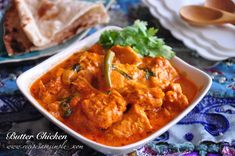 Best Indian Butter Chicken -Creamy Chicken in Tomato GravyRecipes 'R' Simple