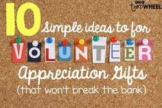 10 Fun and Simple Ways to Appreciate your Volunteers