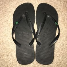 Lacoste black flip flops size 9 or 9.5 Lacoste black flip flops size 9 or 9.5. Could be unisex. I purchased them from the Lacoste outlet a few years ago and no longer have the box. The fit like a 9-9.5 in women's shoes. Lacoste Shoes Sandals