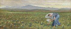 Walter Crane, La Primavera (The Spring)