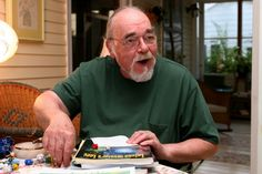 Gary Gygax (1938–2008), writer and game designer best known for co-creating the pioneering role-playing game Dungeons & Dragons (D) with Dave Arneson