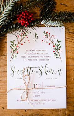 101 Best Christmas Wedding Invitations Images Christmas Wedding