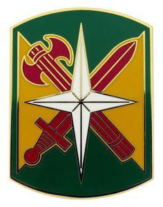 14th Military Police Brigade Combat Service ID Badge - Item # 1-7532