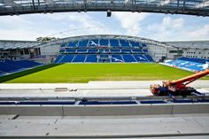 Twitter / BHASnappy: #EXTRASEATS Today Snappy ventured onto top tier to bring the view from the East Stand upper tier. #BHAFC