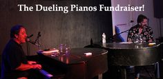 The Dueling Pianos Fundraiser! A super fun and entertaining fundraising event. Find out more about and the how-to of this cool fundraising idea: www.rewarding-fundraising-ideas.com/dueling-pianos-fundraiser.html  (Photo by Amy Claxton / Flickr)