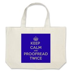 I think my communications department should make these the official bag. lol