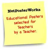 NetPosterWorks - Educational Posters selected for teachers by a teacher.