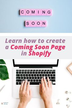 Learn how to create a coming soon page for shopify #shopify #ecommerce #howto #guide