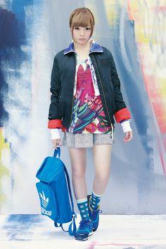 あ Kyary Pamyu Pamyu, Upcoming Concerts, Adidas Fashion, Girl Names, Asian Style, Adidas Originals, Asian Girl, Kawaii, Street Style