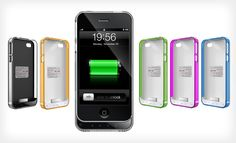 Groupon - Extended-Battery iPhone Case 4/4S or 5 (Up to 57% Off). 7 Colors Available. Free Shipping and Returns.