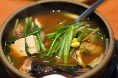 Spicy Korean Miso Tofu Soup