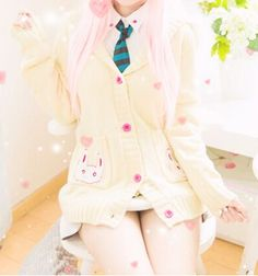 Thanks for the amazing pic @konekocosplays on instagram ^∇^ Youtube review: https://www.youtube.com/watch?v=y7Gy6kIh_OY&feature=youtu.be Style:japanese Design:cartoon Color:beige. Size:one size Length