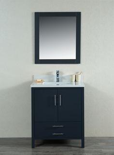 "Mackenzie 30"" Bathroom Vanity Grey - York Taps"