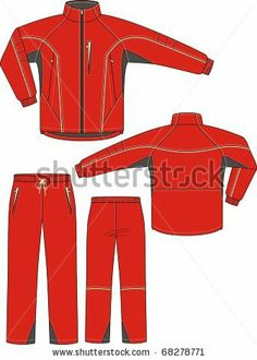 stock-vector-suit-sports-consisting-of-a-jacket-and-trousers-68278771