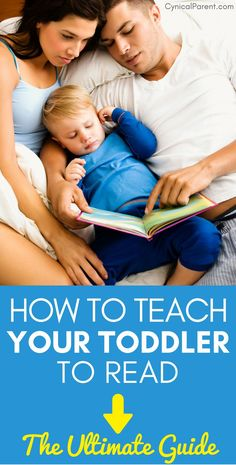 How to Teach Toddler to Read: The Ultimate Guide