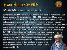 Mansa Musa (1280-1337) Wealthiest Man to Walk the Earth