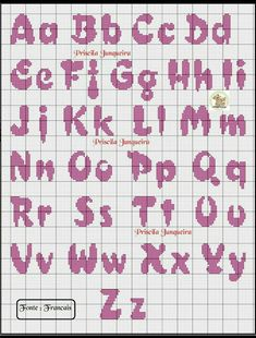 1 million+ Stunning Free Images to Use Anywhere Cross Stitch Letter Patterns, Monogram Cross Stitch, Cross Stitch Baby, Cross Stitch Designs, Stitch Patterns, Crochet Alphabet, Crochet Letters, Embroidery Alphabet, Cross Stitching